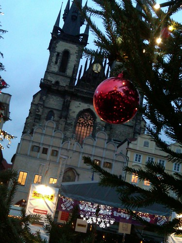 Christmas market in Old Town Square