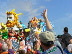 The Family parades during Mardi Gras are a safe alternative to frat-boy fun