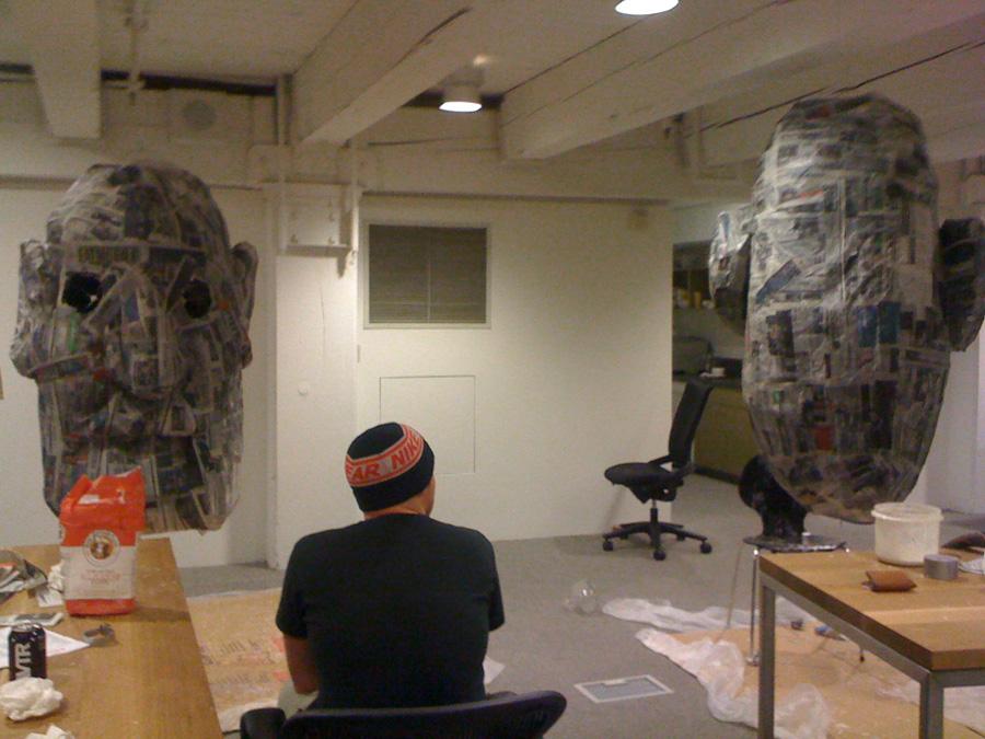 Secret Piñata construction