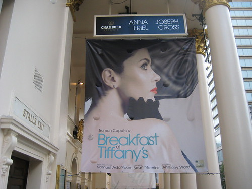 Breakfast At Tiffany's Theatre Breaks in London