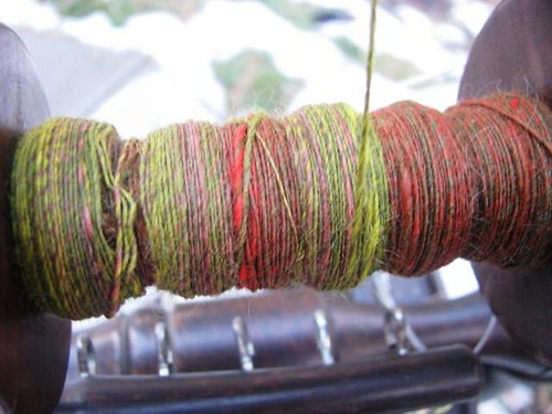 SOAR Carded Batts Spun on WeePeggy