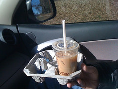 Winter PhoBloDays 2010- Iced latte stop