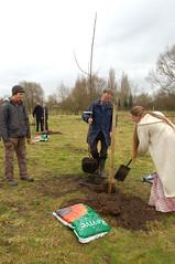 Fruit Tree Planting @ Childrens' Wood, Taunton