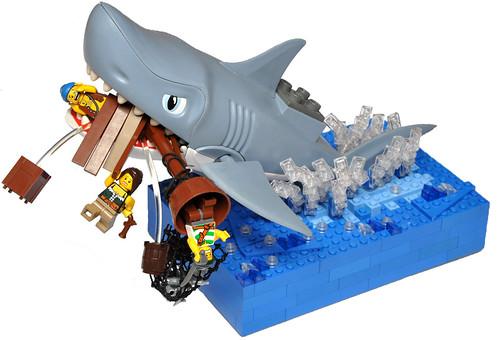 LEGO DUPLO shark attack