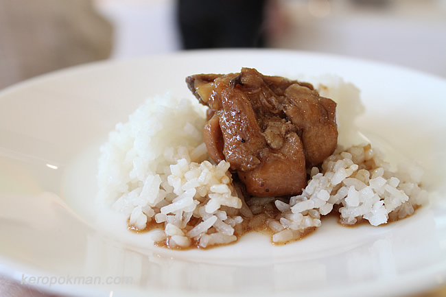 Chicken Adobo with Aromatic Pandan Rice