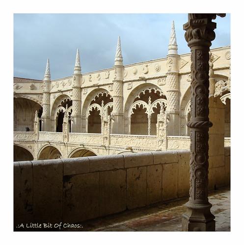 Monasterio de los Jerónimos, claustro (Lisboa)