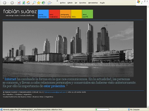 mi sitio web version renovada