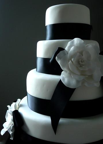 4173510369 ed689127d3 Baú de ideias: Decoração de casamento preto e branco
