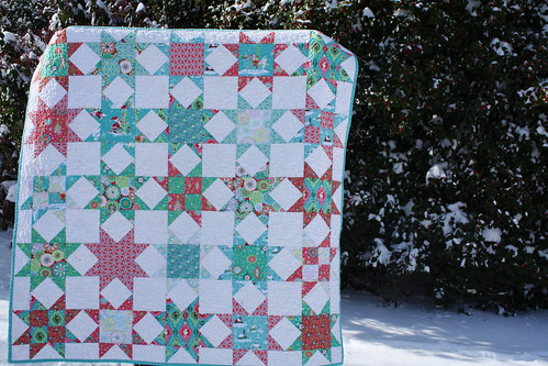 The Sheri Berry Christmas Star Quilt