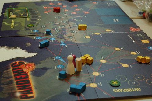 Pandemic Game played late Friday night, Fall In
