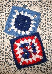 Flower Button Granny