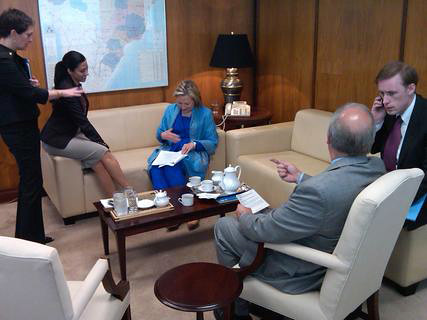 Behind the Scenes: Secretary Clinton in Brazil by U.S. Department of State.
