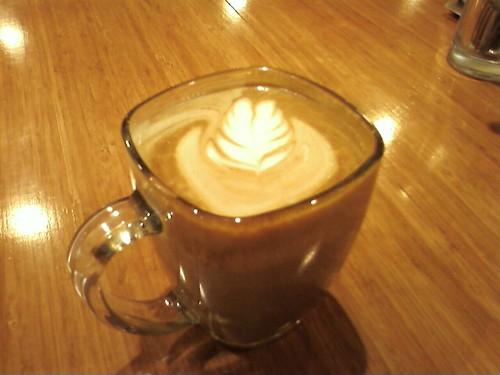 Pretty latte