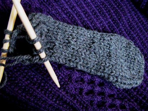 Double Sole Magic Loop Cast On