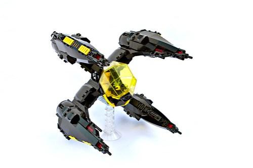 Blacktron X4(E) 'Erinys'