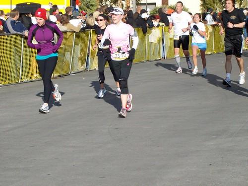 Heading toward the finish line