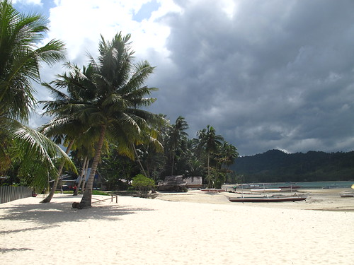 Picture of Port Barton beach in Palawan Philippines