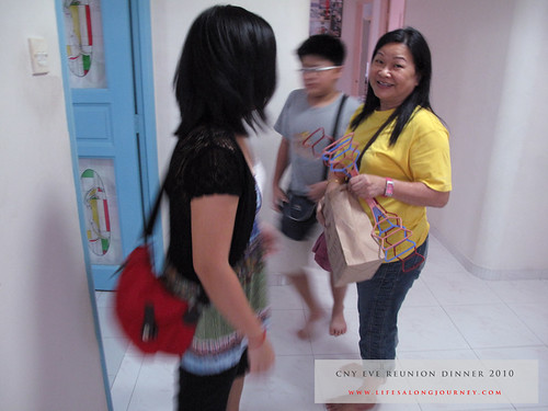 CNY Reunion Dinner 2010 #1