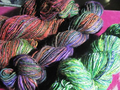Hand-dyed Fake Noro Singles 100g 391 yards