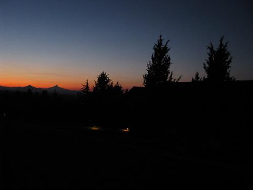 Beautiful Spring Evening at 9pm