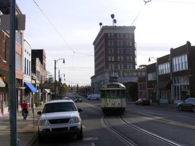 Trolleys in Memphis. acnatta/Flickr