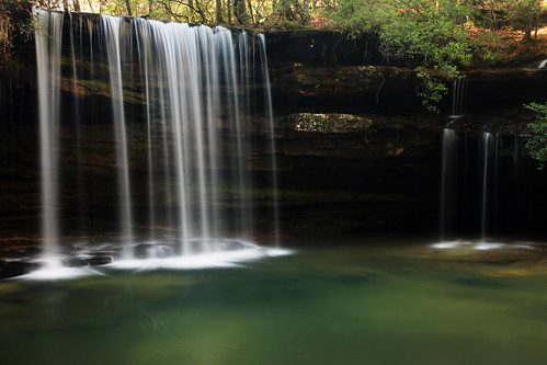 Upper Falls on Caney Creek