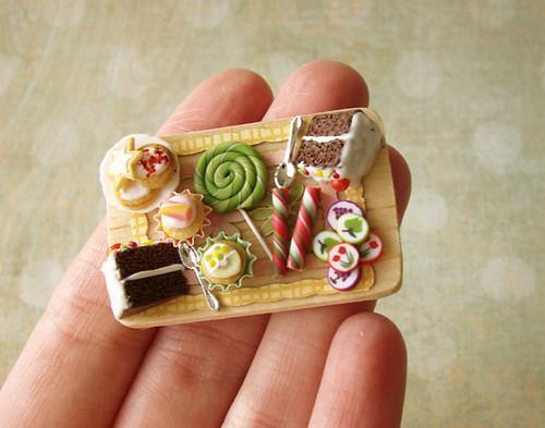 Miniature Food - Birthday Board