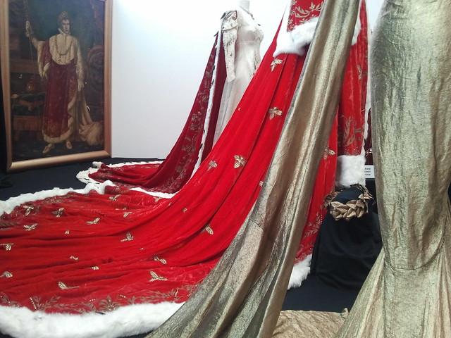 "Marlon Brando ""Napoleon Bonaparte"" velvet, fur, and ermine-tail trimmed robe from Desirée (1954)"