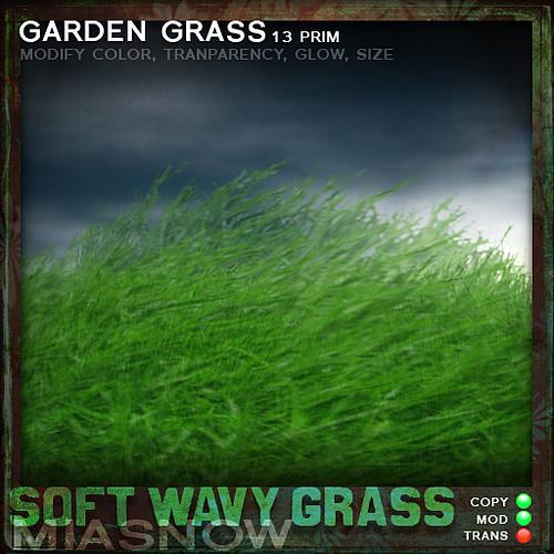 SOFT WAVY GRASS