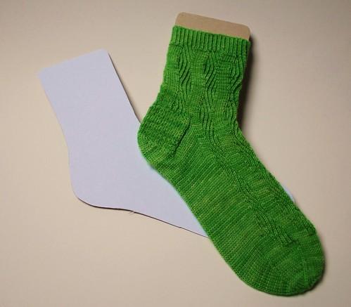 DIY Sock Blocker