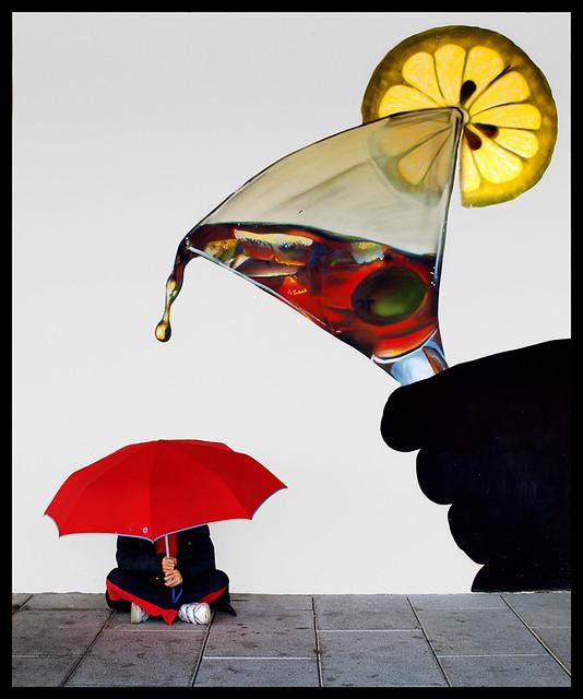 """""""Paraguas antivicio"""" por SANTI BAÑON"""