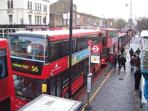Kingsland Road Bus Park