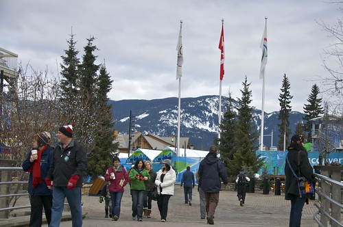 Whistler Village: -5 Days to Vancouver 2010