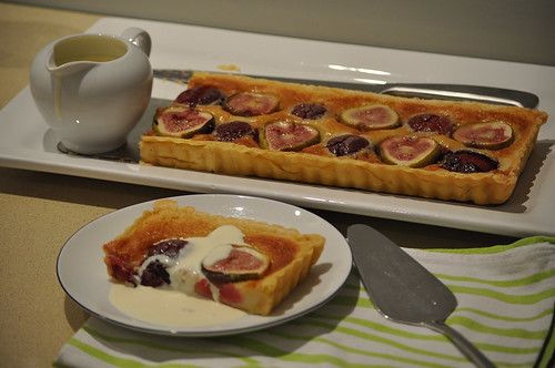 Fig and Plum Tart