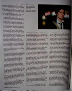 The Guardian - Matt Smith interview