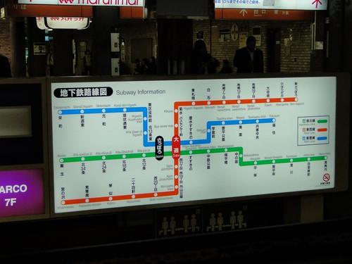 札幌地鐵路線圖