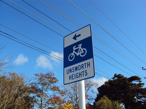 Unsworth Heights Sign