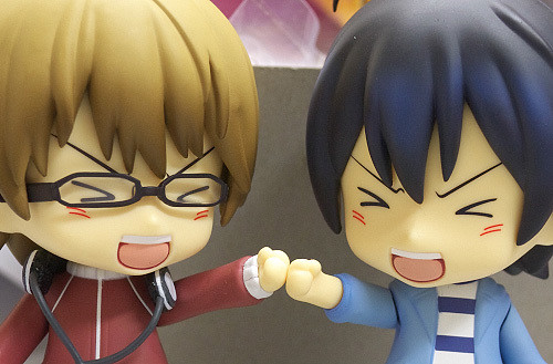 Shuujin and Saikou: Yatta! We are finally released!