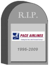 Pace Airlines Tombstone