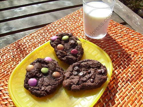 Cookies choco-moelleux / Mellow chocolate cookies