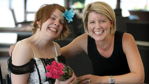 Kelly Vincent and Natasha Stott-Despoja