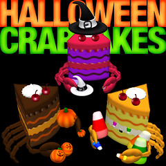 Halloween Crabcakes