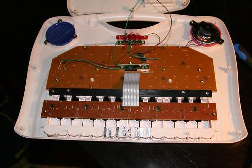 The FrankenSynth opened up