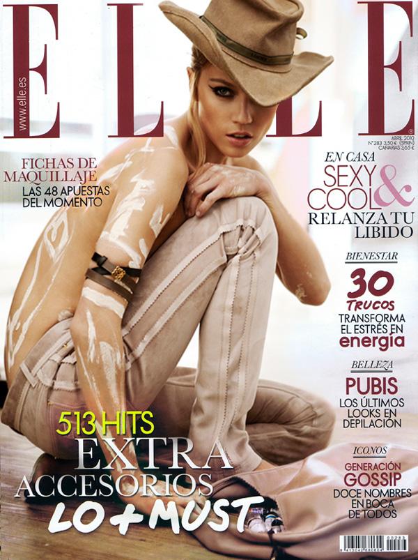 Elle Spain April 2010 1