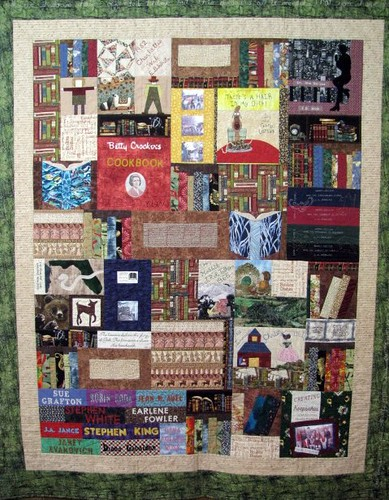 I Love Books! Irene Dudley May Gallery Exhibit @Quiltworks