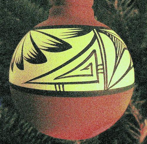 Southwestern Style Christmas Ornament