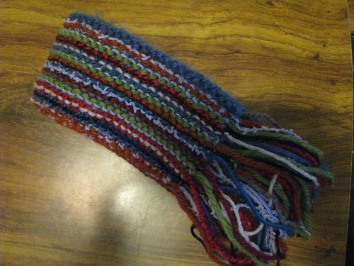 Completed Gift Scarf