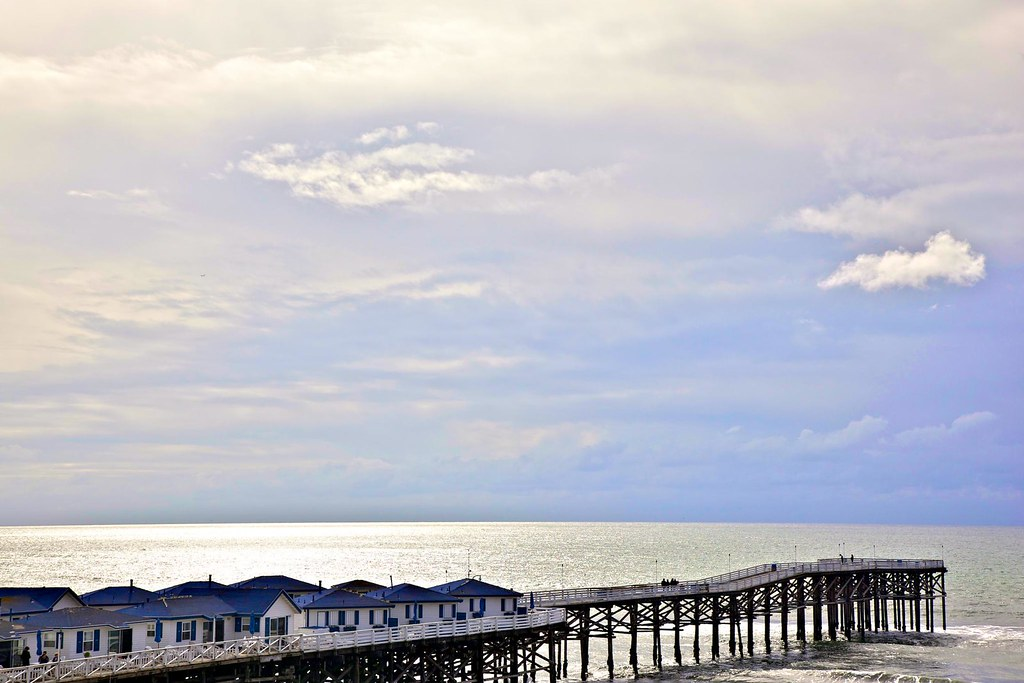 crystal pier storm coming