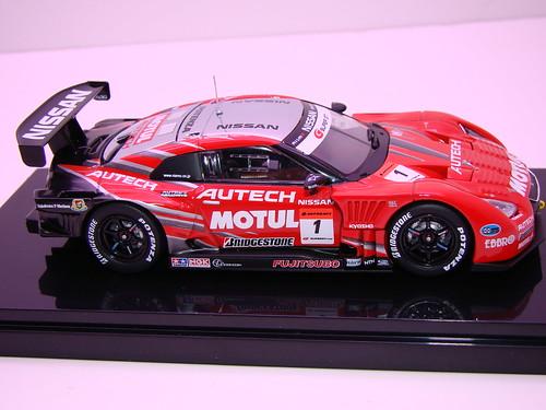 EBBRO MOTUL AUTECH GT-R SUPER GT 5002009 RD. 3 FUJI WINNER (5)
