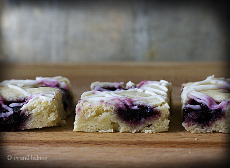 Blackberry Jam Almond Bars